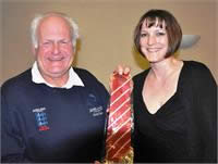 Swanage Angler Becky Adams Receives Her England Colours