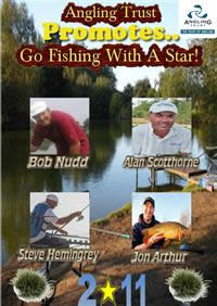 Angling Trust promotes Go Fishing With A Star 2011
