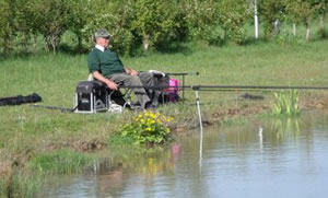 Fishing at Canal Farm Cottages