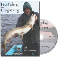 Pike Fishing on Lough Derg with Rick Zevering :: DVD Review