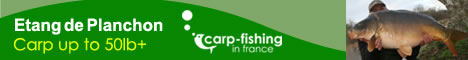 Etang De Planchon french carp fishery report : August 2010