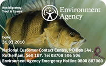 Environment Agency rod licence fee frozen for three years