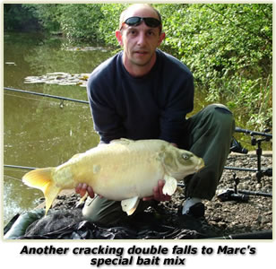 Carp fishing with Marc - carp baits