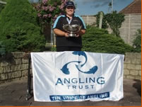 Samantha Sim wins the Angling Trust Ladies' National Championships on the Kennet & Avon Canal