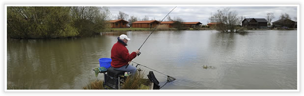 Fishing at Tattershall Lakes Country Park