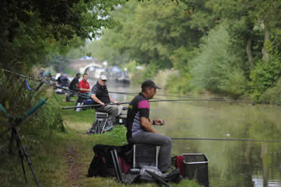 Shropshire Union Canal reels in national angling championship