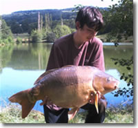 Ben May catches over 374lb of carp using Red Crab Steamers