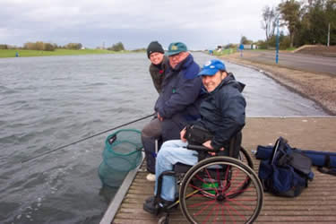 The Sky's the Limit for Anglers with Disabilities