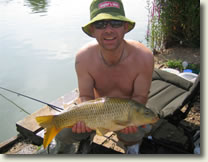 7lb Gold Valley Common - nice hat dude!!