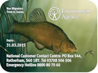 Environment Agency Rod Licence 2014