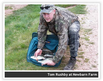 Tom Rushby at Newbarn Farm