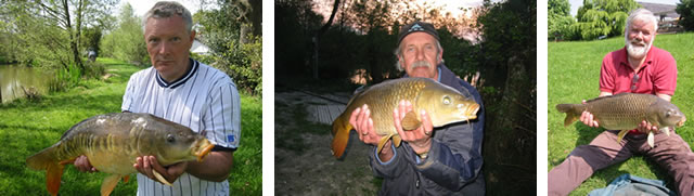 Nineoaks Fishery catch report