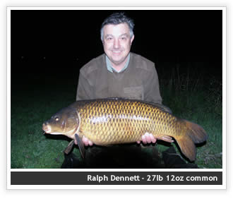 Ralph Dennett - 27lb 12oz common