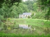 Renovated 3 Bed Mill with Carp & Trout Lake for sale in Normandy, France